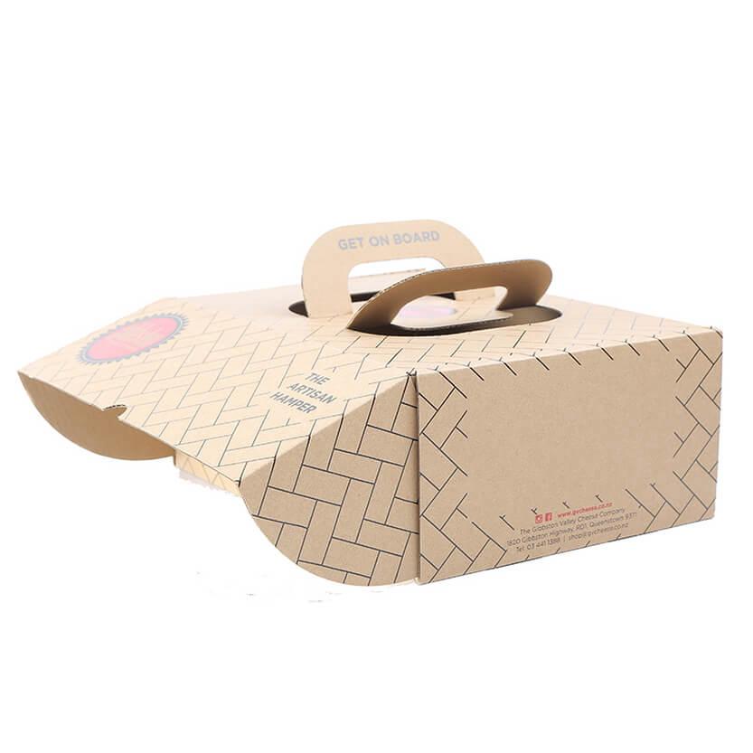 Corrugated Handle Box 596a 2